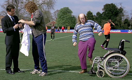 Nationwide Building Society advertising campaign featuring characters from British comedy series Little Britain
