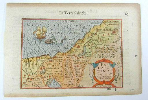 Palestine map 1612 512