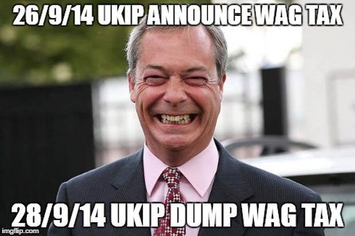 UKIP WAG tax meme 512