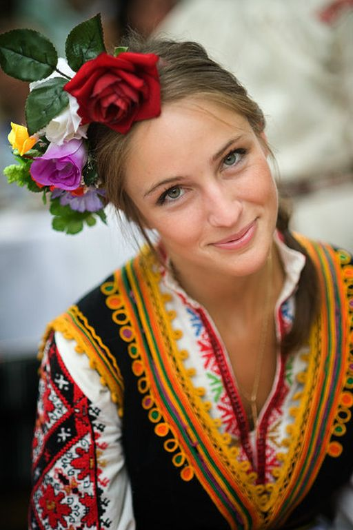 Typical Bulgarian lady