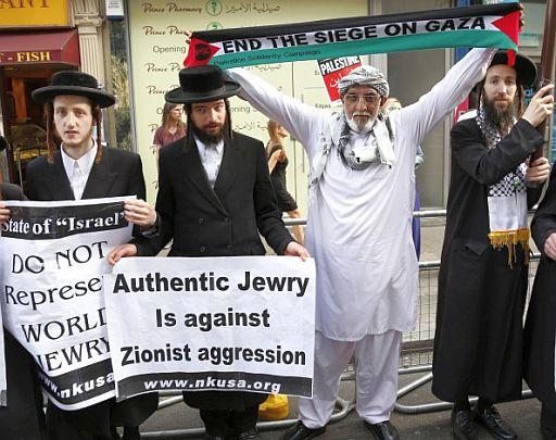 Rally in London against Israeli attacks on Gaza
