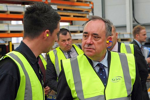 How Alex Salmond lies about Scottish finances