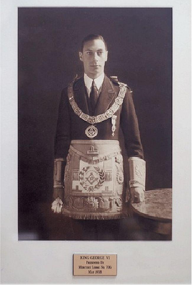George VI, freemason Windsor