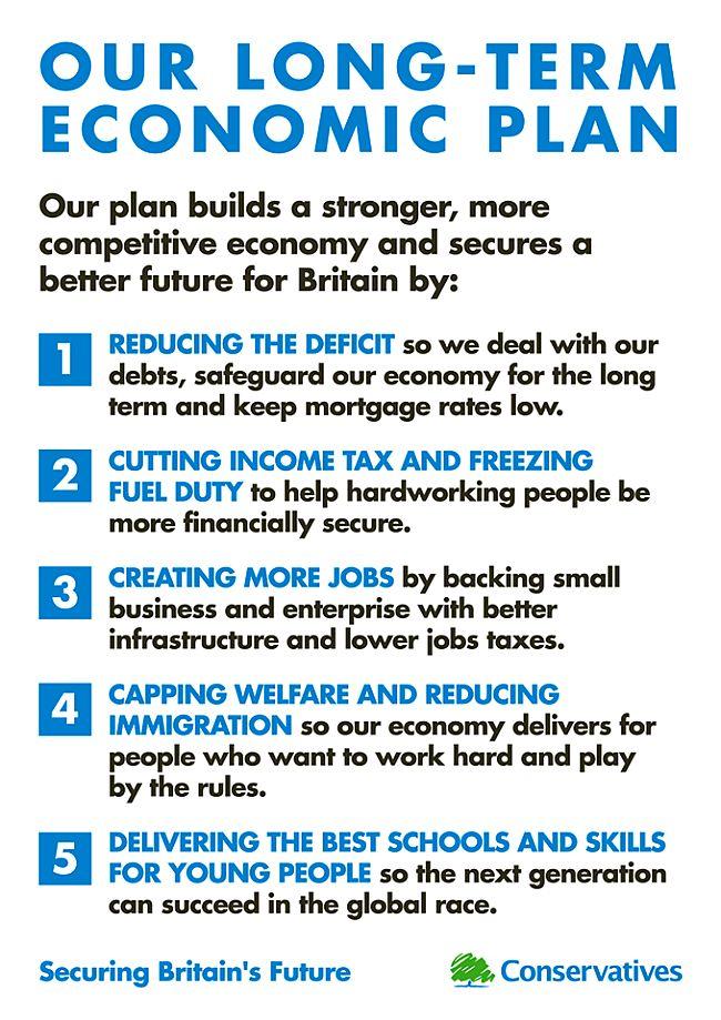 Conservative long term economic plan 650