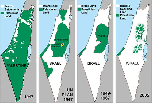 Islamic State, created the same way that Israel and USA were