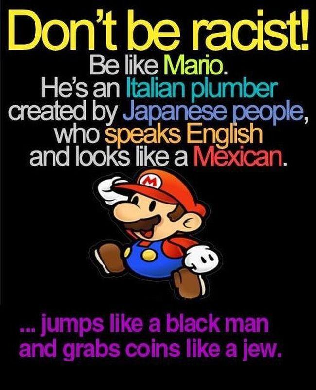 Multicultural Mario 650