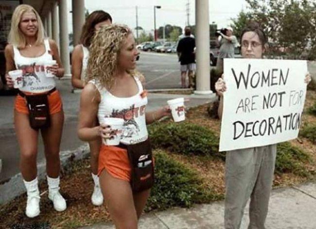 Feminism hooters 650