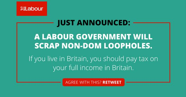 Non Doms and Labour lies