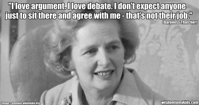 Thatcher argument 650
