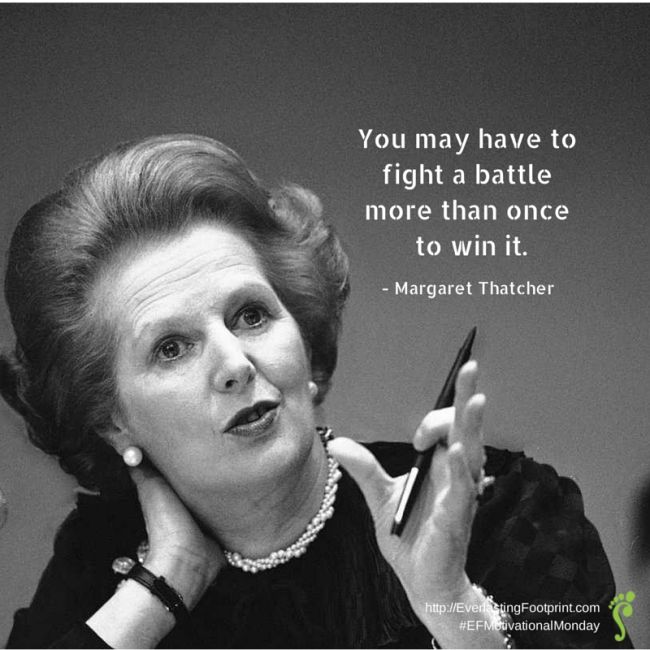 Thatcher fight a battle more than once 650