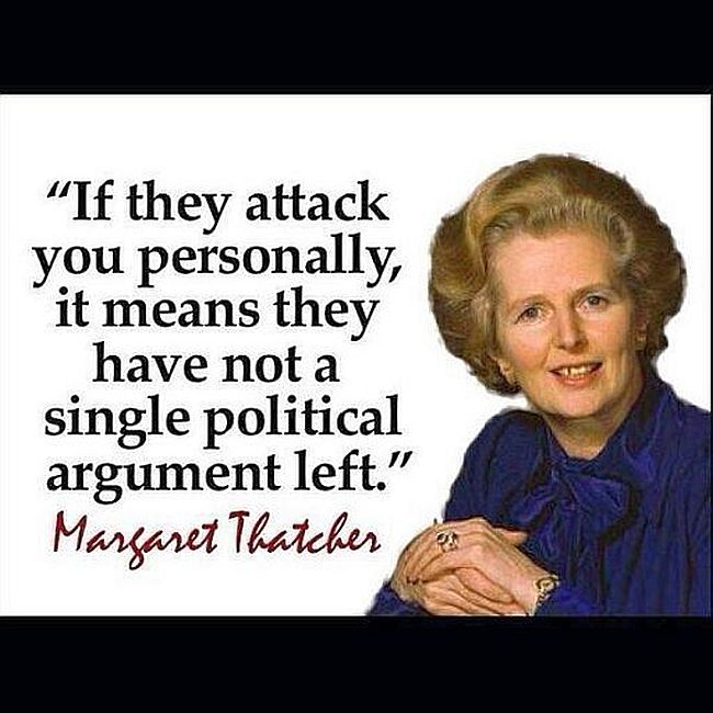 Thatcher personal attack 650