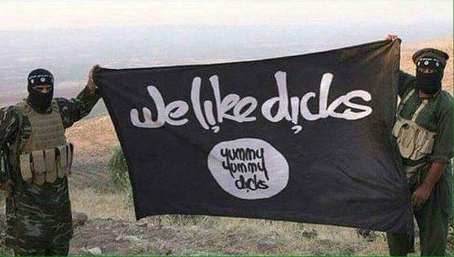 ISIS we like dicks 650