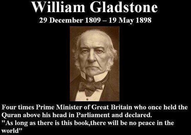 Islam Gladstone Koran 650