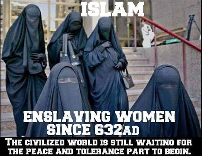 Islam enslaving women 650