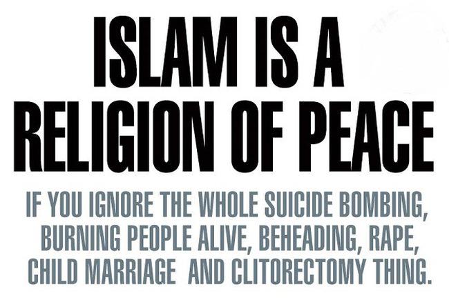 Islam religion of peace #2 650