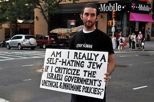 Israeli self hating jew 512