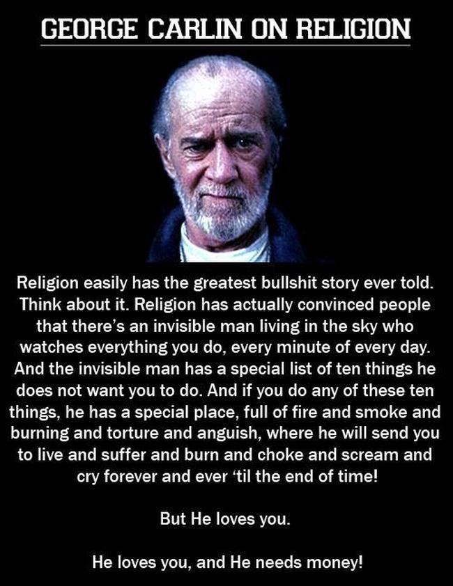 Religion bulshit