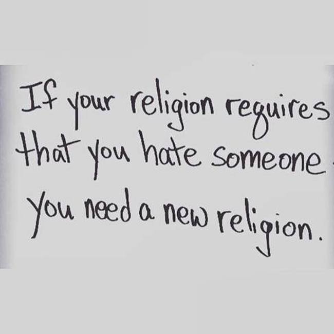 Religion. Need a new one.