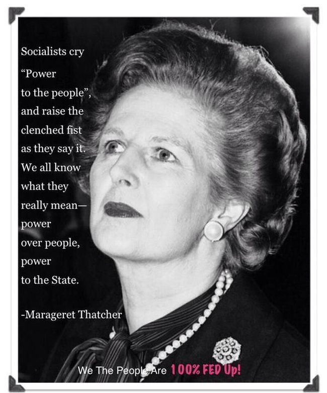 Thatcher socialism power to the people 650