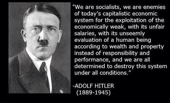 It is irrefutable: Hitler was a socialist • Bruce On Politics