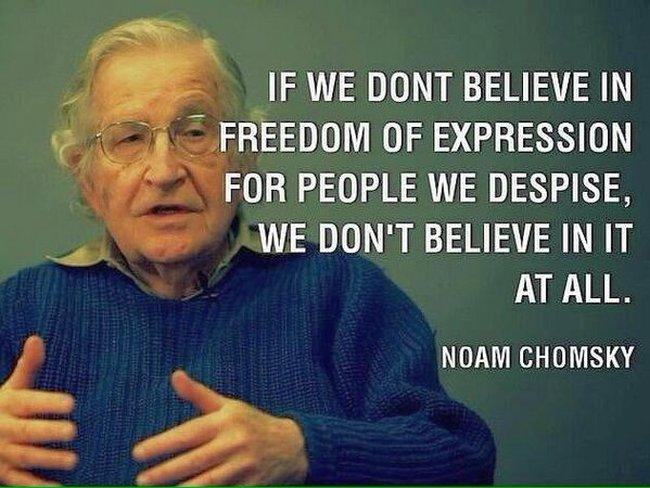 Free speech Chomsky 650