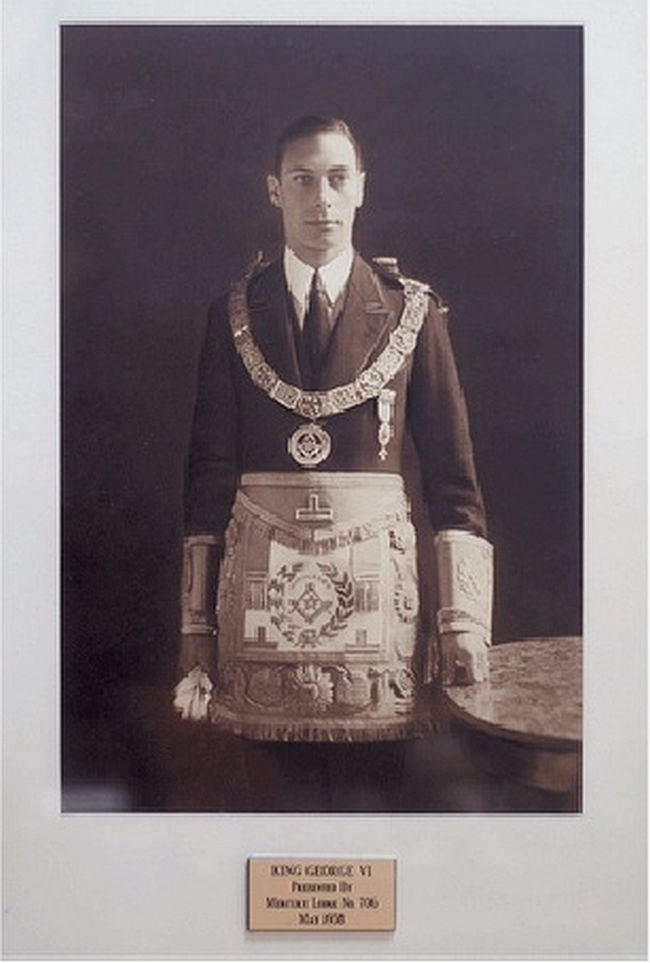 Freemason George VI 650