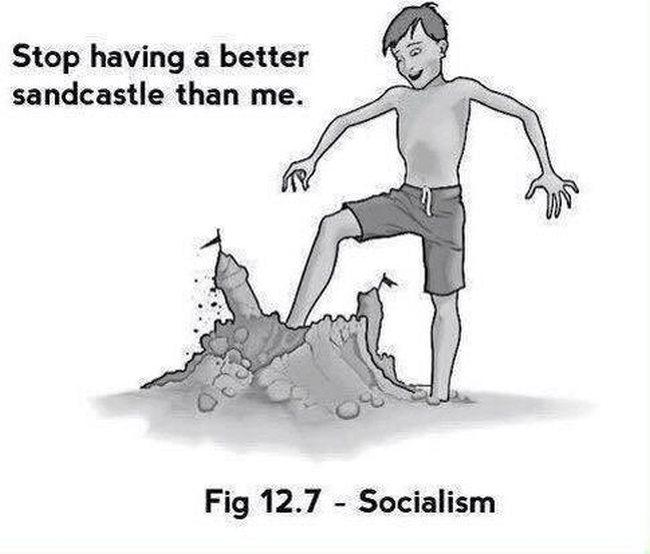 Socialism sand castle 650