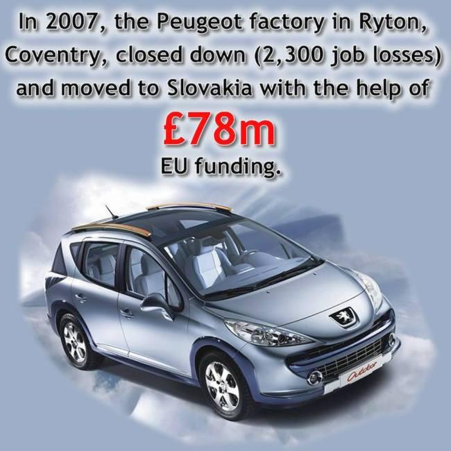 Brexit Peugeot 650