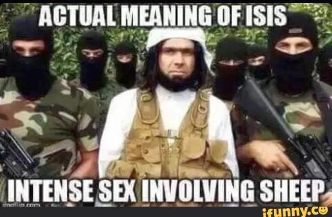 ISIS sheep #2 650