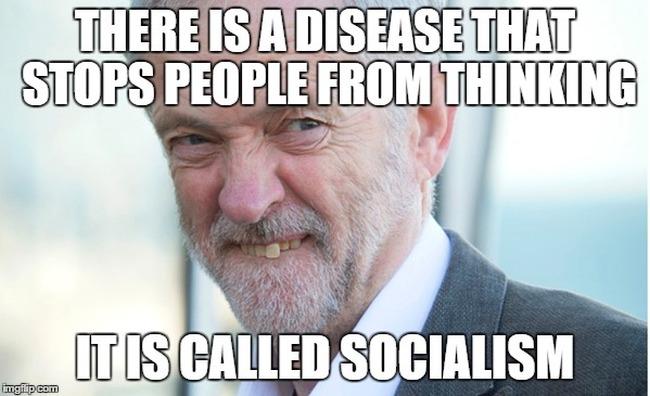 Corbyn meme thinking 650