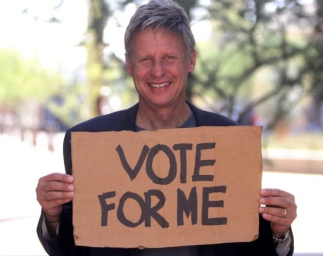 Why Gary Johnson should be president