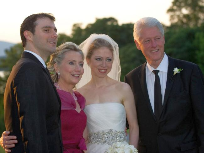 British taxpayers financed Chelsea Clinton's wedding