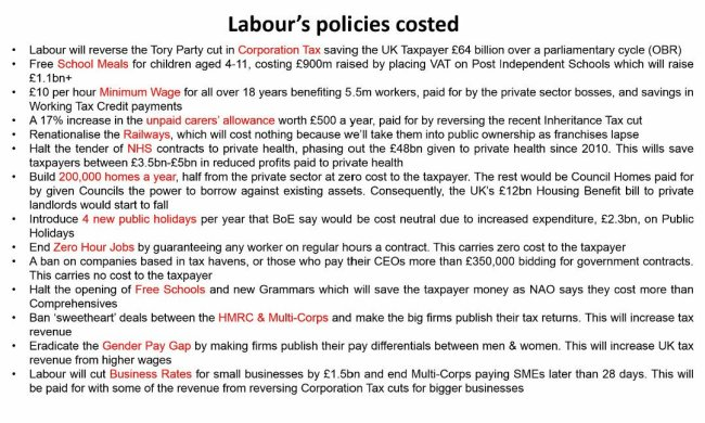 Labour Election Lies about the Economy