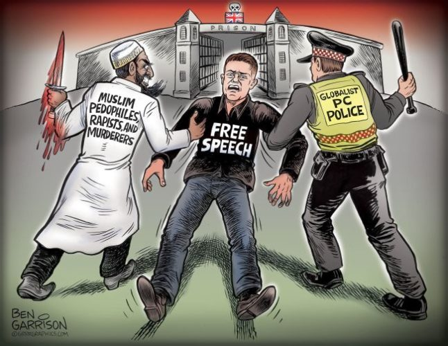 Tommy Robinson is not Right Wing